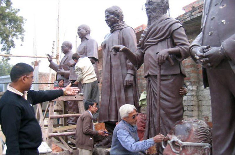 Mayawati and the Statues Case