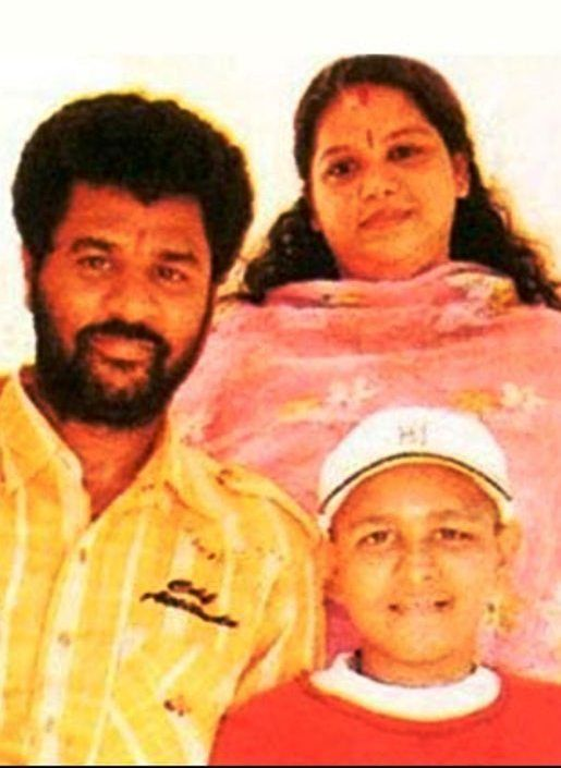 Prabhu Deva with His Wife and Son- Vishal