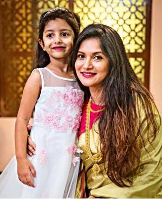 Rafiath Rashid Mithila with her daughter Ayra Tehreem Khan