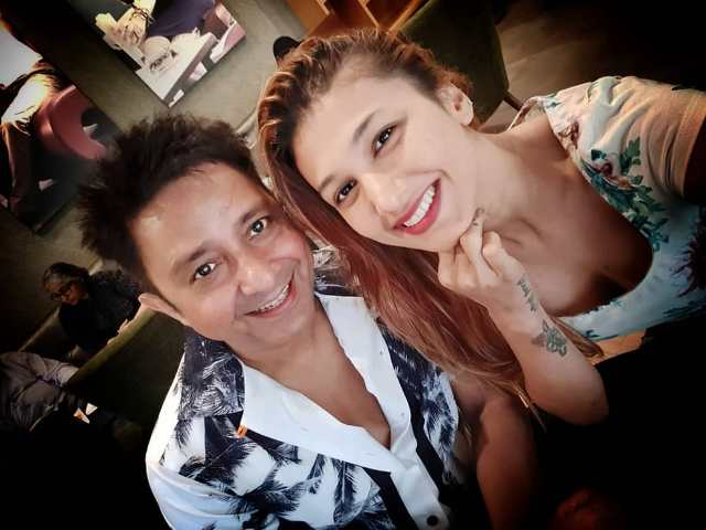 Sukhwinder Singh with Jasleen Matharu