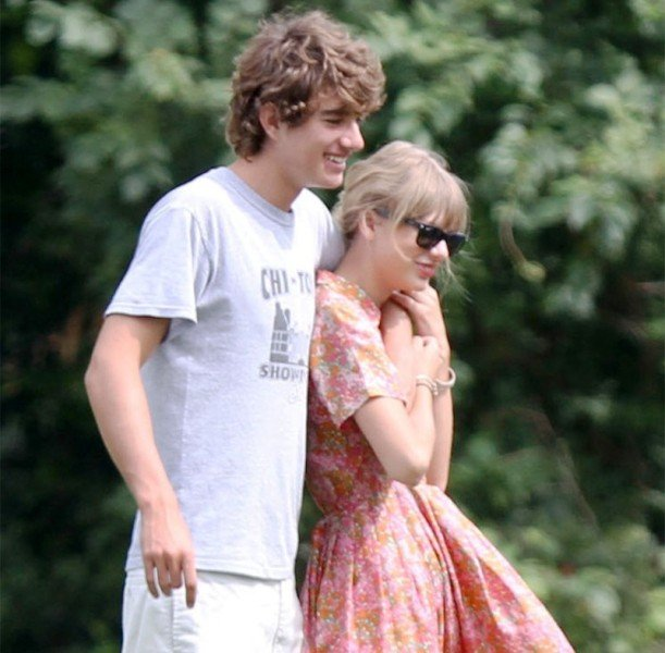 Taylor Swift with Conor Kennedy