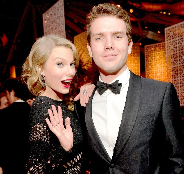 Taylor Swift with Her Brother- Austin Swift