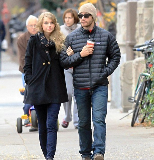 Taylor Swift with Jake Gyllenhaal