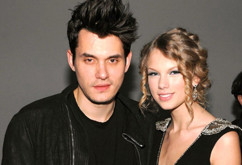 Taylor Swift with John Mayer