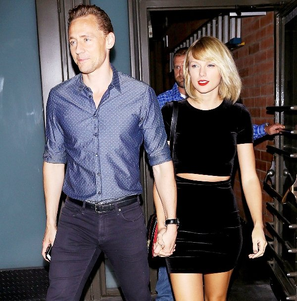 Taylor Swift with Tom Hiddleston