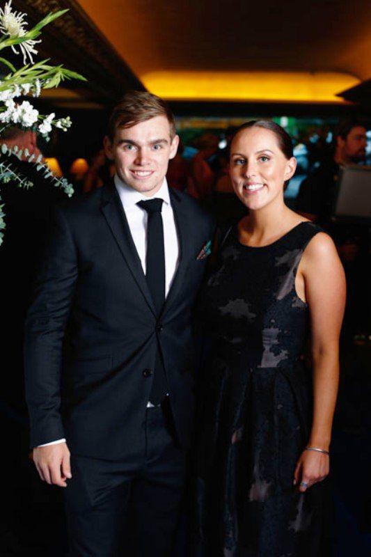 Tom Latham With His Wife Nicole McAuley