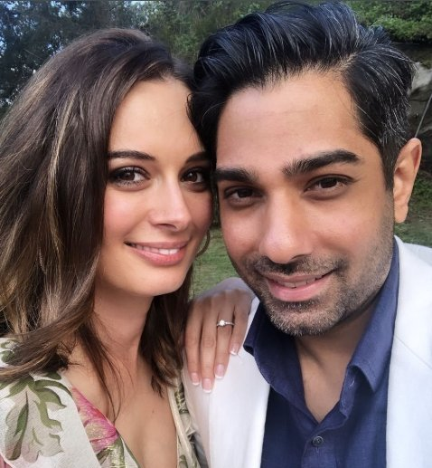 Tushaan Bhindi with Evelyn Sharma