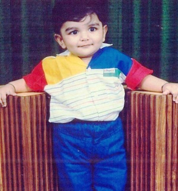 A Childhood Picture of DJ Chetas