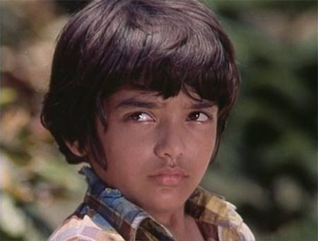 Alankar Joshi as the child Amitabh in the 1975 Bollywood film Deewaar