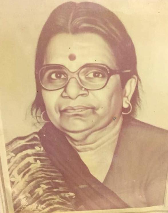 Annu Awasthi mother Vidya Devi Awasthi