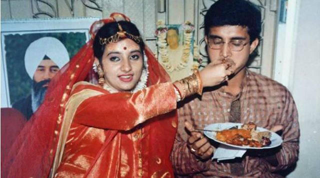 Dona Ganguly's wedding picture