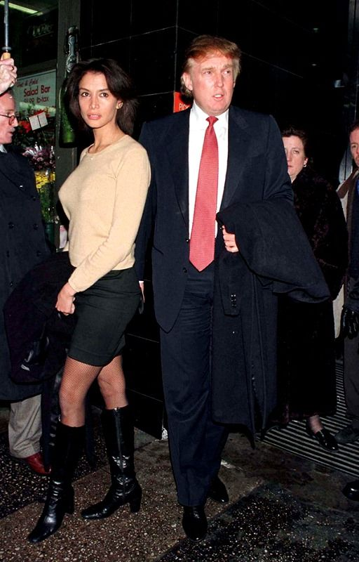 Donald Trump with Kara Young