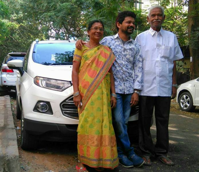 Jogi Naidu with his Parents