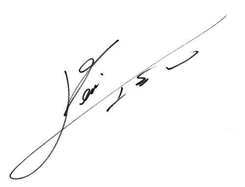 Lionel Messi's signature