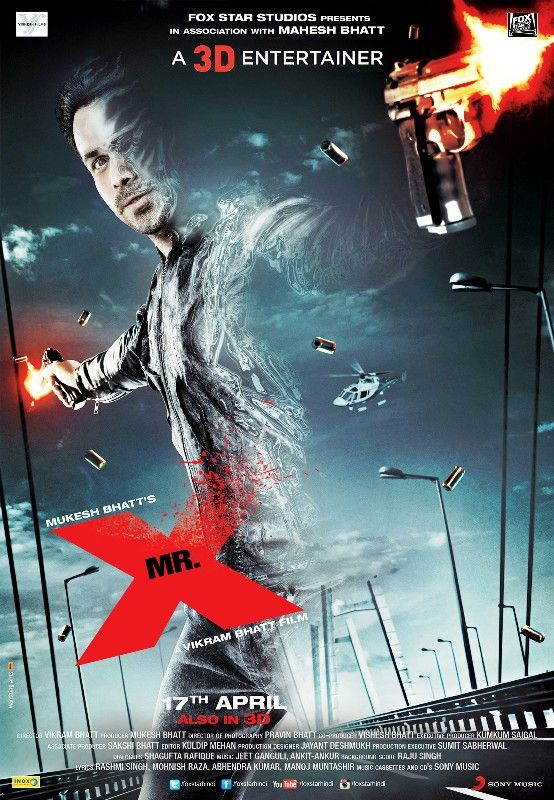 Poster of Bollywood Film Mr X