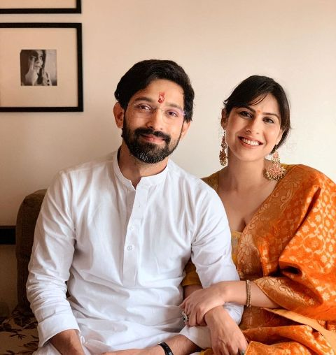 Sheetal Thakur and her fiance Vikrant Massey