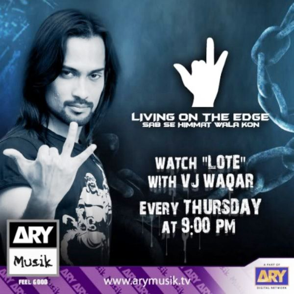 Waqar Zaka's Living on the Edge