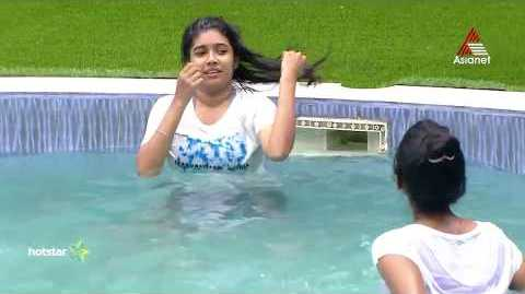 Alasandra Johnson in Bigg Boss Malayalam 2