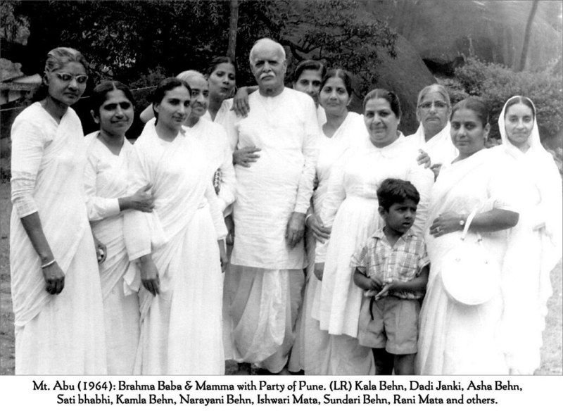 An Old Picture of Dadi Janki