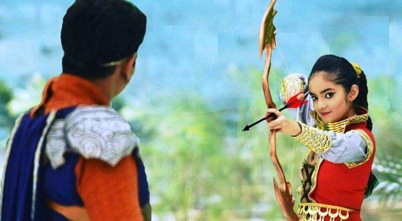 Anushka Sen in Baal Veer