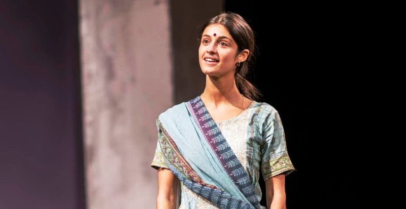 Anya Chalotra in a Theatre Play