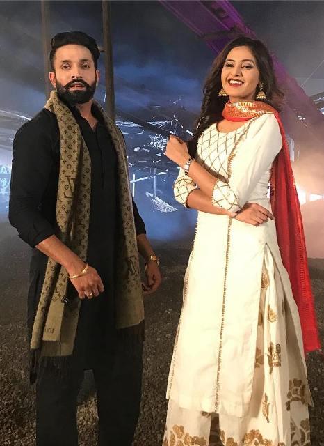 Baani Sandhu with Dilpreet Dhillon