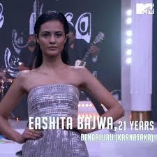 Eashita Bajwa in MTV Supermodel of the Year
