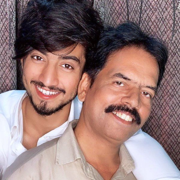 Faisal Shaikh with His Father