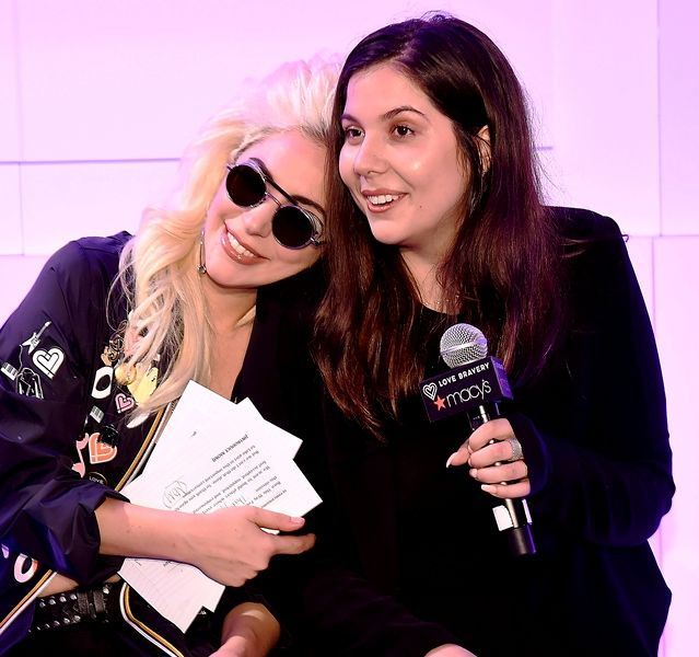 Lady Gaga with her sister Natali Germanotta
