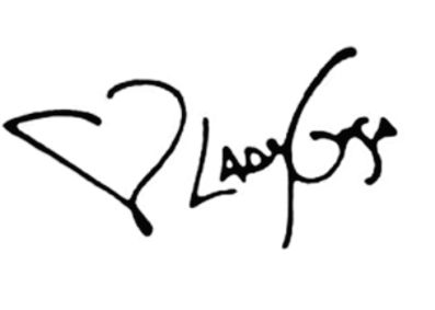 Lady Gaga's signature