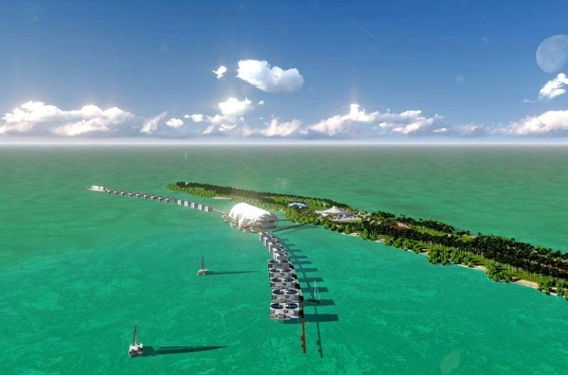 Leonardo DiCaprio's Island