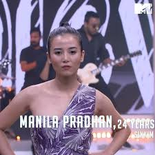 Manila Pradhan in MTV Supermodel of the Year