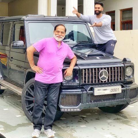 Parmish Verma's car