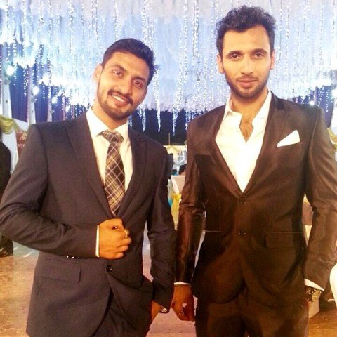 Punit Pathak and his brother