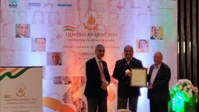 QIMPRO Platinum Standard Awards 2019 - National Statesman for Quality in Business