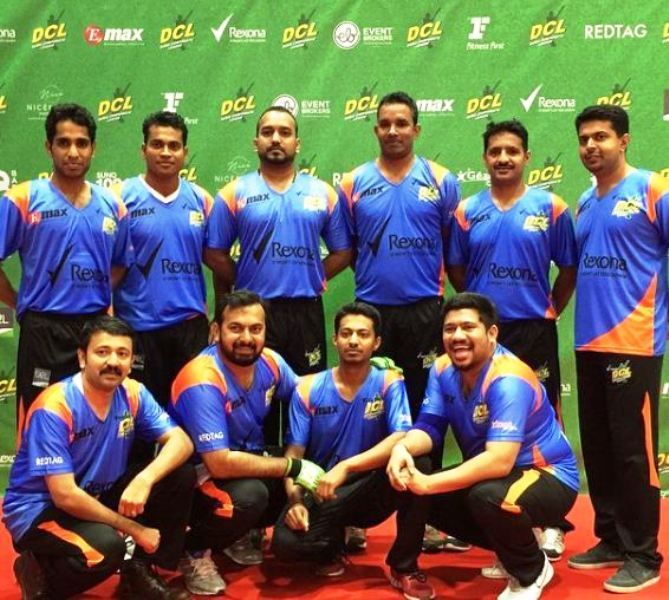 Raghu Subhash in a DCL team
