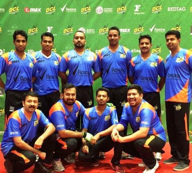 Raghu Subhash in a DCL team