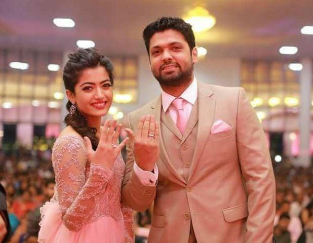 Rashmika Mandanna's engagement picture