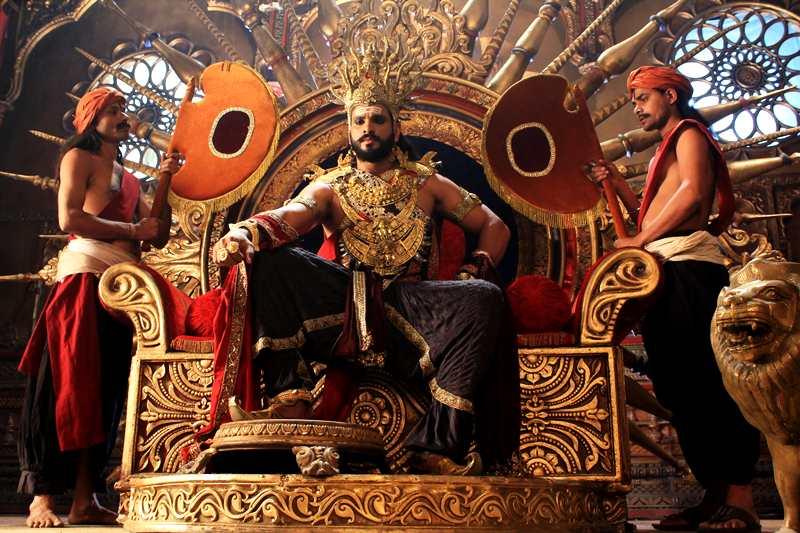 Saurav Gurjar in a still from Mahabharat