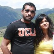 Shyam Gopalan with his first wife