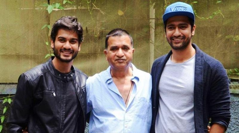 Sunny Kaushal with his Father and Brother Vicky Kaushal