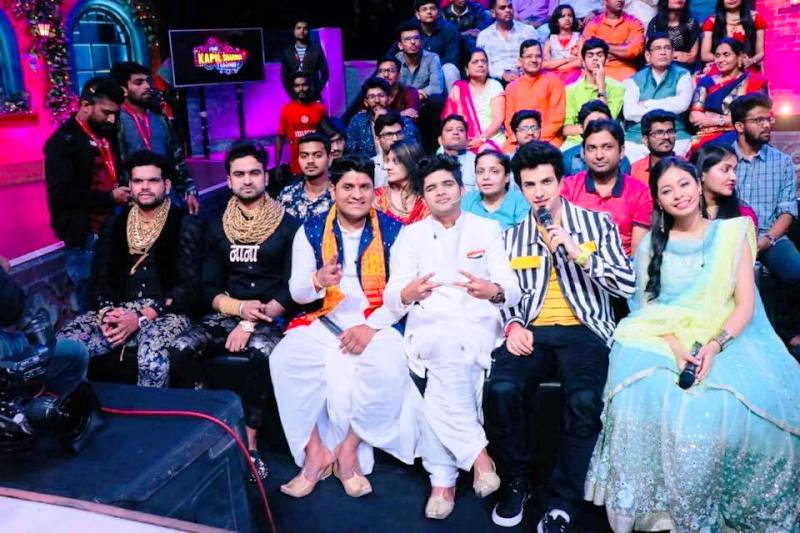 Sunny Waghchoure and Sunjay Gujar in Indian Idol