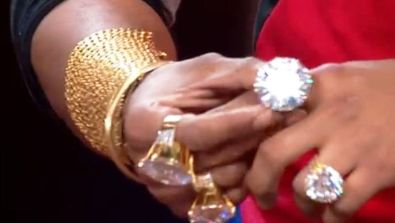 Sunny Waghchoure's Gold Rings
