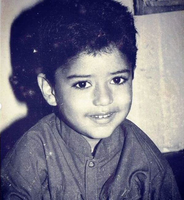 An Old Picture of Shine Shetty