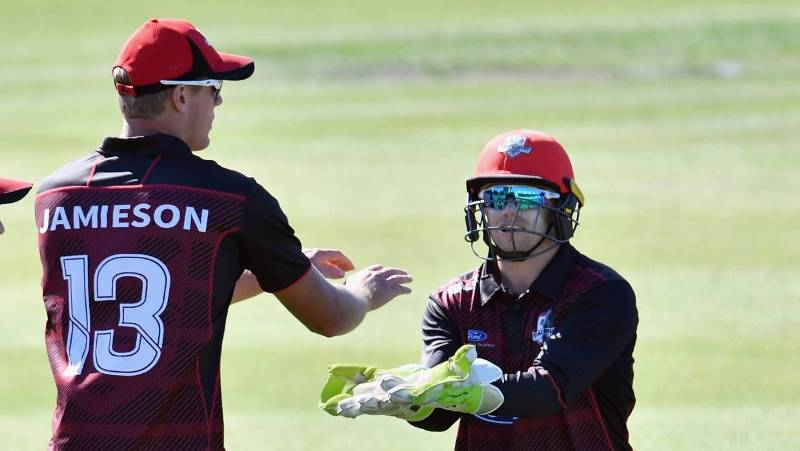 Kyle Jamieson played under Black Caps coach Gary Stead during his time at Canterbury