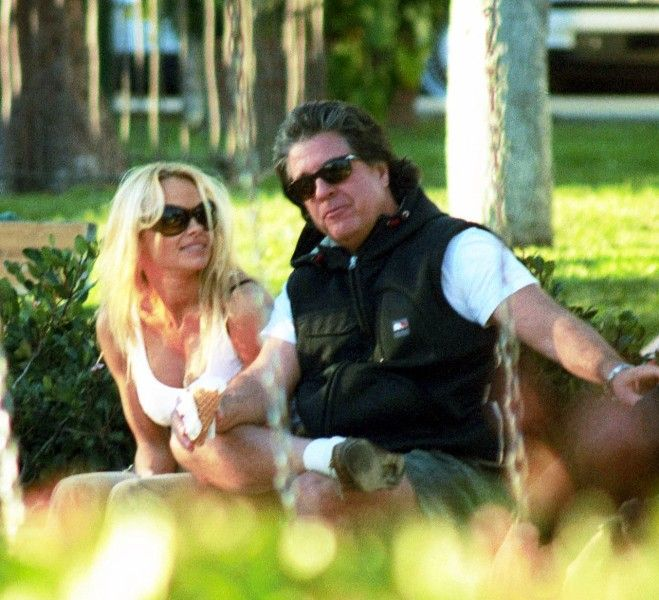 Pamela Anderson With Jon Peters