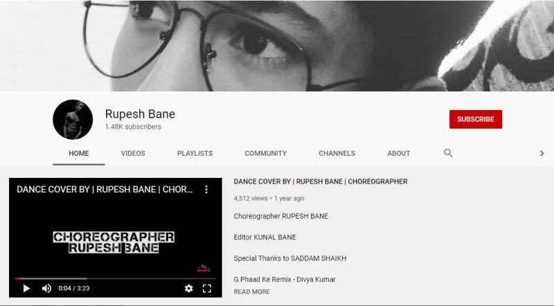 Rupesh Bane- YouTube Channel