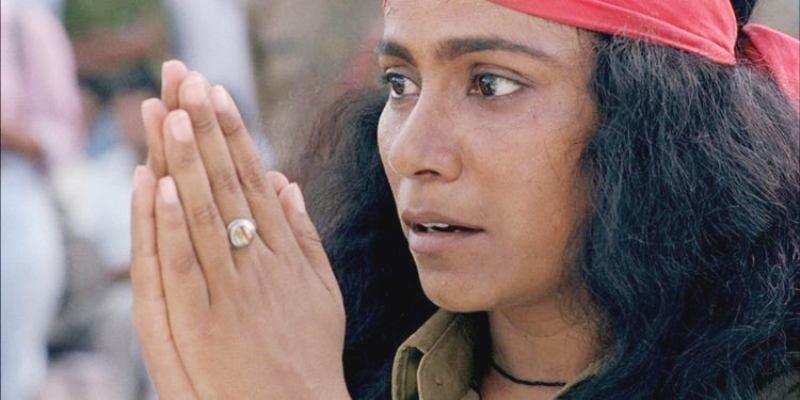 Seema Biswas in a Scene from Bandit Queen