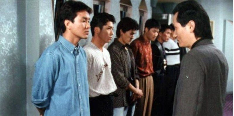 Song Kang-ho in a Scene from Green Fish (1997)
