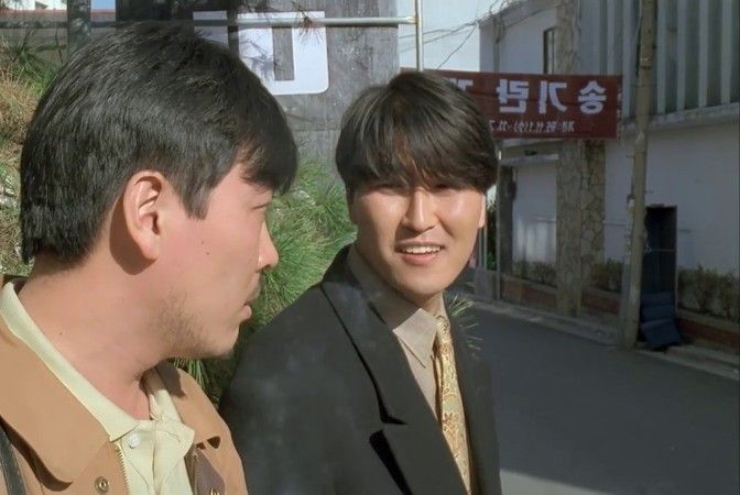 Song Kang-ho in a Scene from The Day a Pig Fell into the Well (1996)
